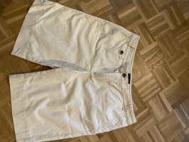 Tommy Hilfiger High-Waist-Shorts cream