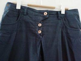 Tom Tailor Chinos dark blue cotton