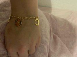 Chloé Bracelet à breloques doré