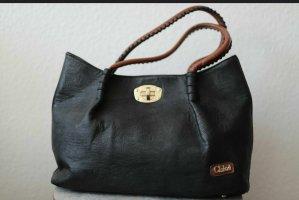 CHLOE Damentasche in schwarz + kleine Tasche