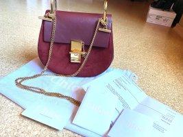 Chloé Drew Mini Plum Bag inkl Rechnung & ID-Card