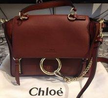 Chloe Faye Day Marron Designer Bag Tasche *neuwertig* small bordeaux oxblood