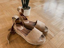 Chloé Espadrille Sandals light pink-pink leather