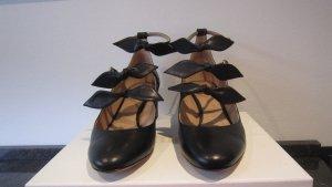 Chloé Escarpins Mary Jane noir cuir