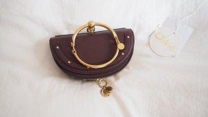 Chloé Nile Bracelet Bag Pochette Bordeaux