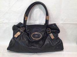 Chloé Shopper aus schwarzem Leder