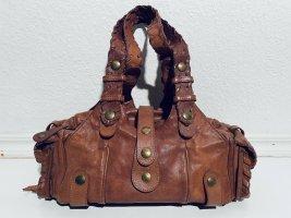 Chloé Handbag cognac-coloured-gold-colored leather