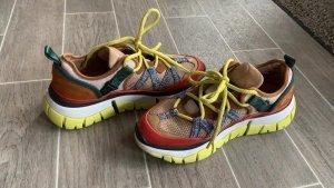 Chloé Lace-Up Sneaker multicolored