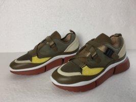Chloé, Sneakers, Oliv Multi, 39, neu