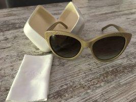 Chloé Gafas de sol ovaladas beige
