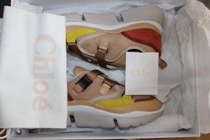Chloé Slip-on Sneakers beige leather