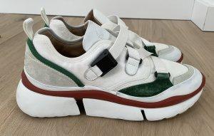 Chloé Heel Sneakers multicolored