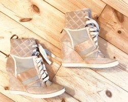 Chloé Wedge Booties rose-gold-coloured