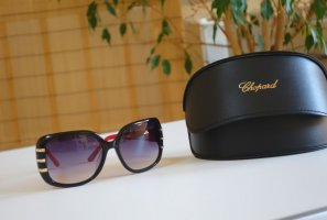 Chopard Angular Shaped Sunglasses black-red