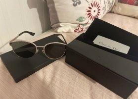 Christian Dior Round Sunglasses black