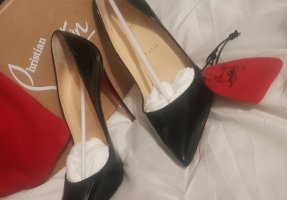 Christian Louboutin Pumps So Kate 12 cm lack schwarz