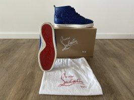 Christian Louboutin High Top Sneaker blue