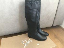 Christian Louboutin Jackboots black leather