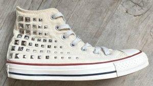 Converse High Top Sneaker cream linen