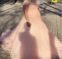 Wedding Dress salmon