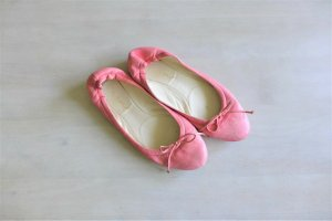 Cinque Leder Schuhe flach Ballerinas rosa pink Gr. 39