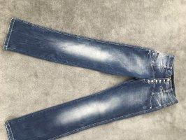 Cipo & Baxx High Waist Jeans blue