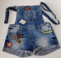 Cipo & Baxx Bib Shorts steel blue