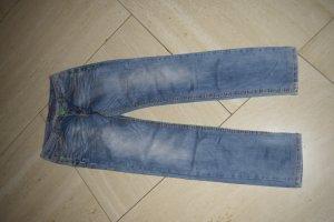 Cipo & Baxx tolle Jeans, 29/34, bunte Nähte
