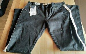 Circle of Trust Drainpipe Trousers black