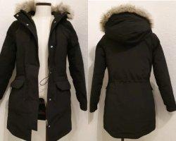 Calvin Klein Winterjas zwart-grijs-bruin