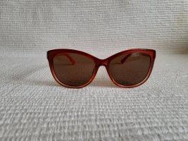 ck calvin lein sonnenbrille rot neuwertig