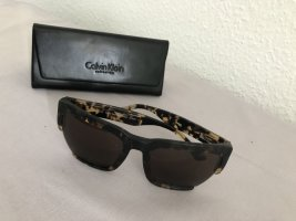 Calvin Klein Angular Shaped Sunglasses multicolored acetate