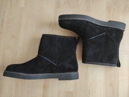 Clarks Drafty Day Stiefelette Boots Wild Leder gefüttert Gr. 40 UK 6.5