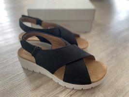 Clarks Platform Sandals multicolored