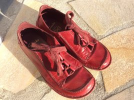 Clarks Schuhe Damen Halbschuhe Leder Schnürschuhe Gr. 38 ECHTLEDER
