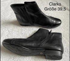 Clarks Slip-on laarzen zwart