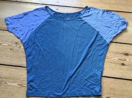 Cleptomanicx Sports Shirt cornflower blue-azure