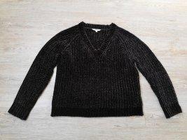 Clockhouse Pullover Tweed schwarz S samt