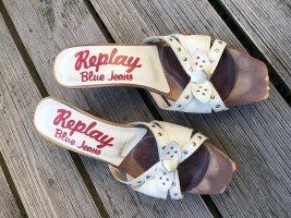 Clocs, Pumps, Sandale von Replay, Größe 38