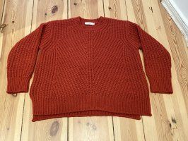 Closed Grobstrick-Pullover rot Gr. XS