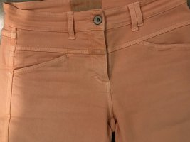 Closed Tube Jeans apricot cotton