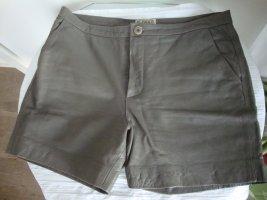 Closed Lederhotpants 100% Original  Gr. 34 khaki wenig getragen TOP ZUSTAND!!!