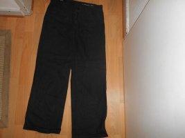 Closed Lniane spodnie czarny Len