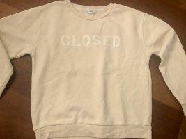CLOSED, Sweat-Shirt, cremefarben, Größe M