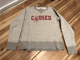 CLOSEDxRidingHigh Sweater mit Aufschrift Limited Edition Gr.S