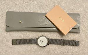 Cluse Horloge met metalen riempje veelkleurig