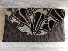 Clutch light brown-dark brown