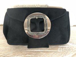 ae elegance Pochette noir cuir