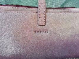 Esprit Clutch mauve-roze Leer