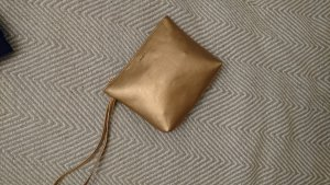 Clutch Handtasche roségold klein schick Pimkie